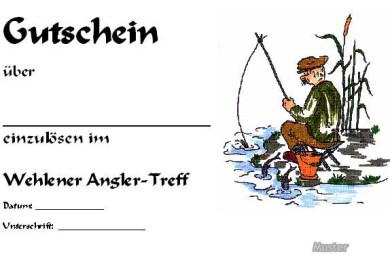 Gutschein angeln